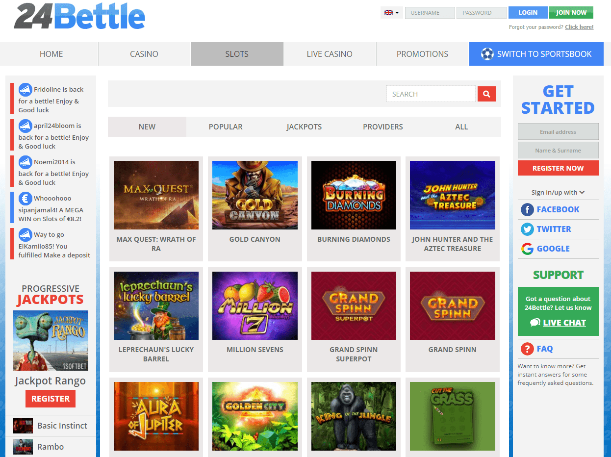 24Bettle - Online Casino Geeks