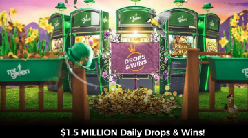 Mr Green Casino Promo Giving Away $1,500,000 In Cash Drop Prizes