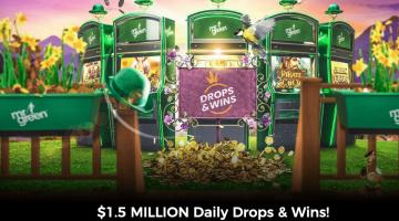Mr Green Casino Promo Giving Away $1,500,000 In Cash Drop Prizes
