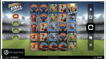 Soccer-Football Themed Online Slots Added to Microgaming Casinos