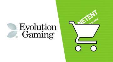 Evolution Gaming Set pour acquérir netent machines à sous vidéo!